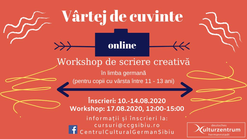 workshop de scrire creativa